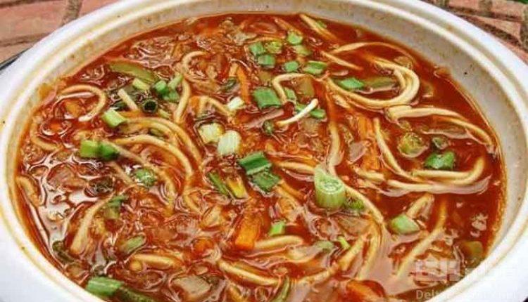 سوپ نودل قرقاول